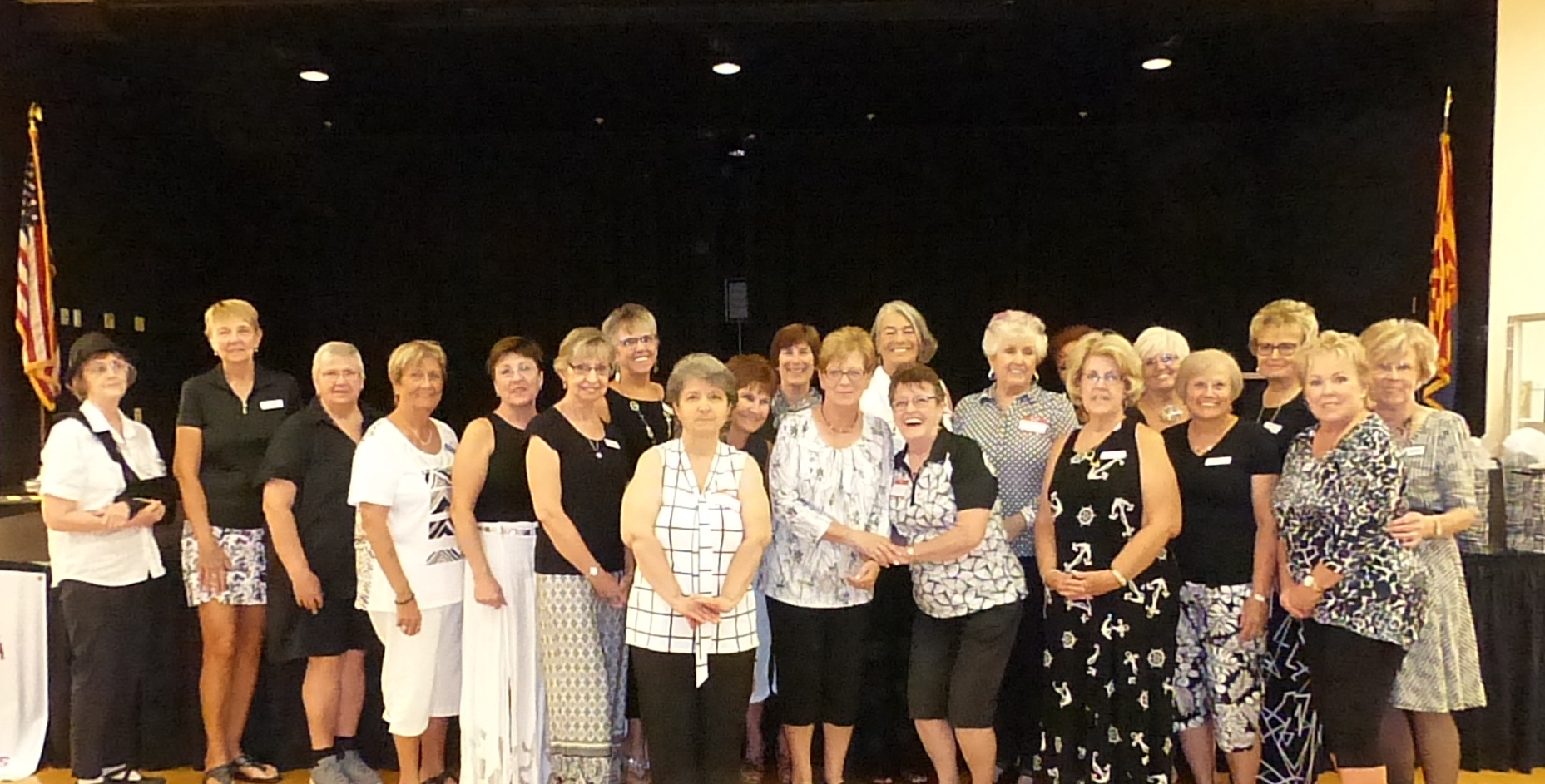 New Members at our Black and White Anniversary General Meeting and Luncheon
